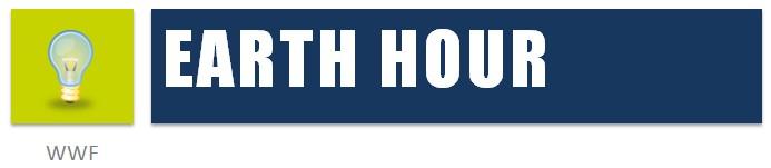Symbol-Klimaschutz im Alltag-Earth Hour