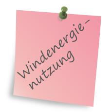 Windenergienutzung
